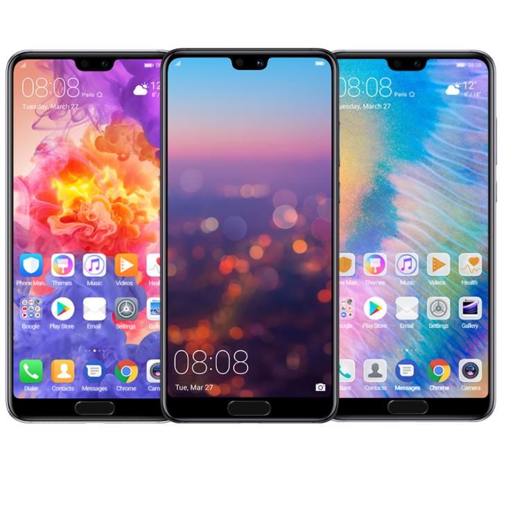 Huawei официально представила мобильные телефоны Huawei P20 иP20 Pro
