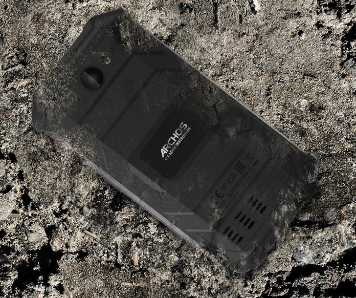 Анонсы Представлен защищенный смартфон Archos Saphir 50X