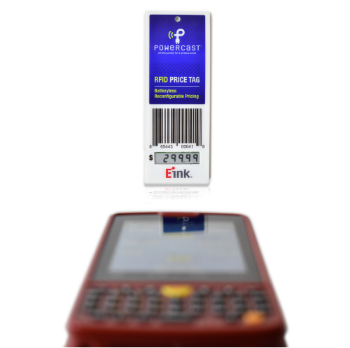 RFID ценники на e-Ink без батарей