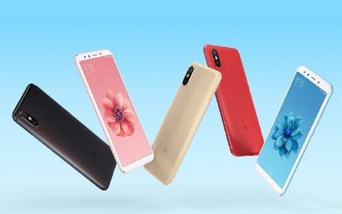Слухи: Xiaomi Mi 6X появится в 5 цветах