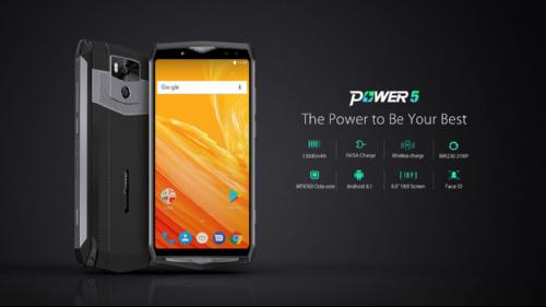 Анонсы: Ulefone Power 5 снабдили аккумулятором 13 000 мАч