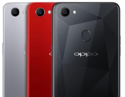 Анонсы: OPPO F7 с вырезом на экране появился в России