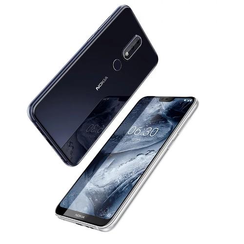Анонсы: Nokia X6 получил экран с вырезом, Snapdragon 636 и сдвоенную тыловую камеру
