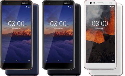 Анонсы: Представлены Nokia 5.1, Nokia 3.1 и Nokia 2.1