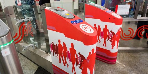 RFID метро