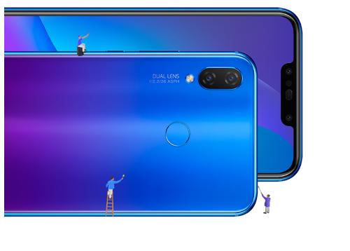 Анонсы: Huawei Nova 3i с 4 камерами и Kirin 710 представлен официально