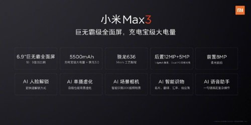 Слухи: Стали известны подробности о Xiaomi Mi Max 3