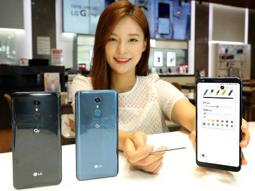 Анонсы: Представлен LG Q8 (2018) с 6,2-дюймовым дисплеем и стилусом