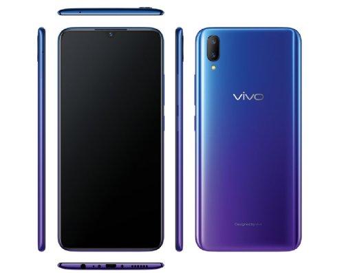 Анонсы: vivo V11 снабдили встроенным в экран дактилоскопическим сенсором