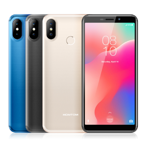 Анонсы: Представлен Homtom C1 с Android Go на борту