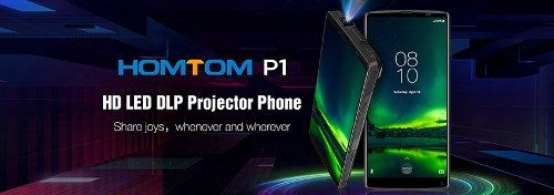 Анонсы: Homtom P1 оснастят проектором яркостью 150 люмен