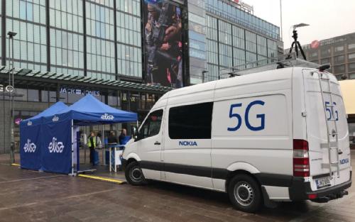 Финская Elisa использует сеть 5G для своего проекта умного города