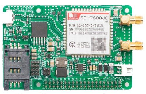 MediaTracks Cat.4 4G LTE HAT