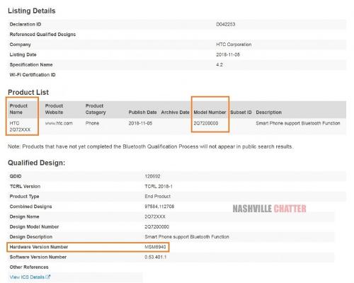 Слухи: HTC готовит середнячка на Snapdragon 435