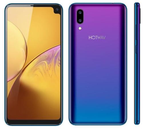 Анонсы: Hotwav Symbol S9L — смартфон с вырезом в углу экрана