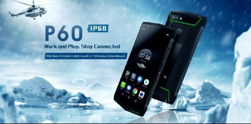 Анонсы: Poptel P60 – защищенный смартфон с емким АКБ и NFC за $200