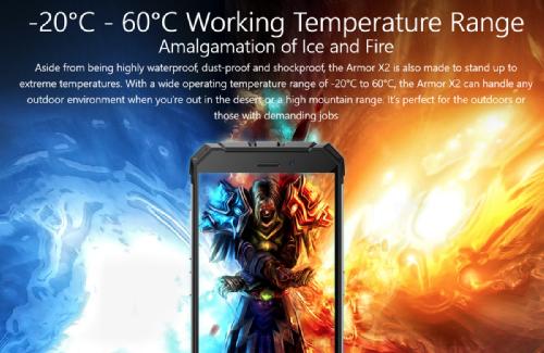 Анонсы: Ulefone Armor X2 — защищенный смартфон начального уровня