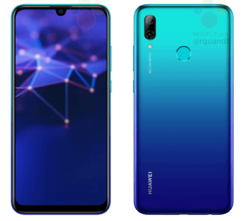Слухи: Появились подробности о Huawei P Smart 2019