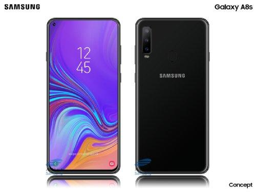 Слухи: Samsung Galaxy A8s получит дисплей Infinity-O