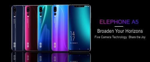 Анонсы: Elephone A5 оснащен MediaTek Helio P60 и 4 Гб DDR4x