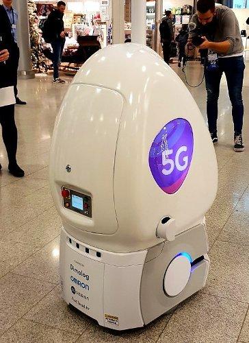 5g робот в Хельсинки