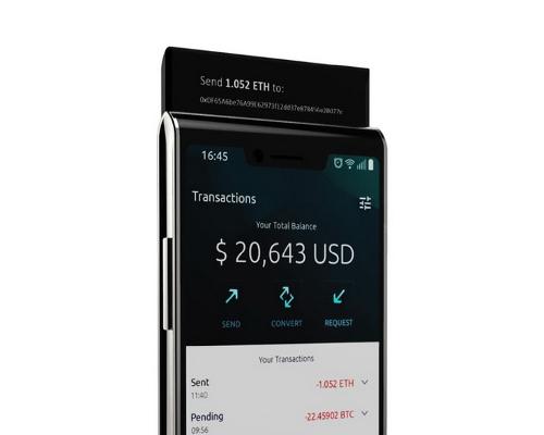 Анонсы: Sirin Labs Finney — еще один блокчейн смартфон