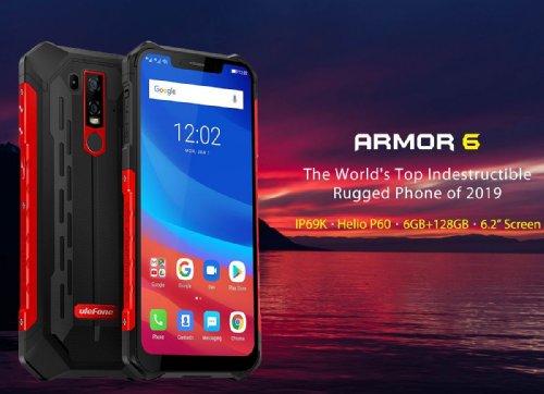 Ulefone Armor 6 — первый защищенный смартфон с 5G