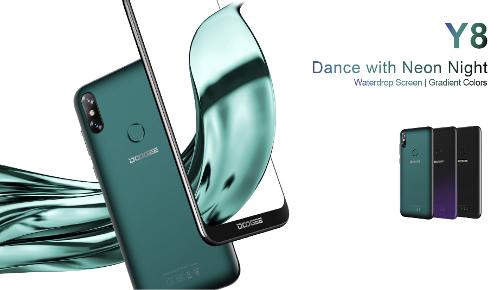 Анонсы: Doogee Y8 — смартфон с вырезом в экране на $69,99