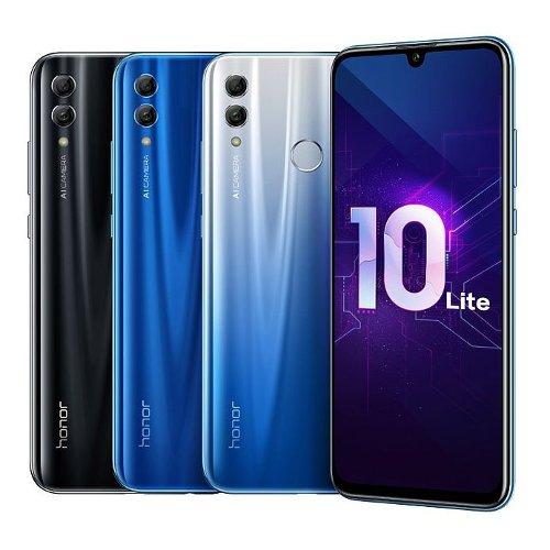 Анонсы: Объявлено о доступности в России смартфона Honor 10 Lite