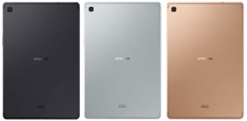 Анонсы: Официально представлен планшет Samsung Galaxy Tab S5e
