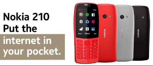MWC 2019: Nokia 210 – очередное обновление «звонилок» Nokia