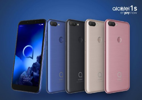 MWC 2019: Представлены смартфоны Alcatel 1s, 3, 3L и планшет 3T 10