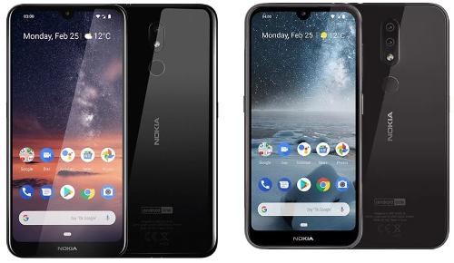 MWC 2019: Nokia 3.2 и Nokia 4.2 — недорогие смартфоны с U-образным вырезом экрана