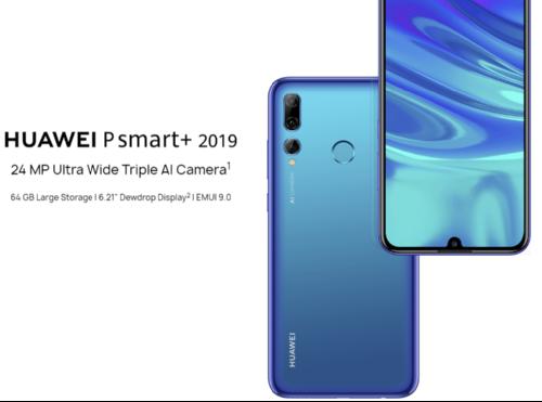 Анонсы: Huawei P Smart+ 2019 (Enjoy 9S) оснастили строенной камерой