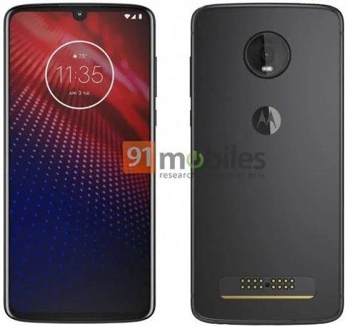 Слухи: Фотографии Motorola Moto Z4 показали U-образный вырез и одиночную камеру