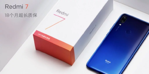 Анонсы: Цена смартфона Redmi 7 стартует от $104
