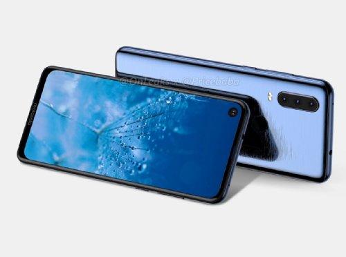 Слухи: Рендеры Motorola Moto G8 показали экран с круглым вырезом и 3 камеры