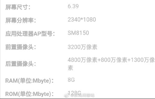 Слухи: Раскрыты спецификации смартфона Redmi на Snapdragon 855
