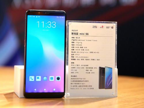 Анонсы: Nubia mini 5G — компактный 5G-смарртфон