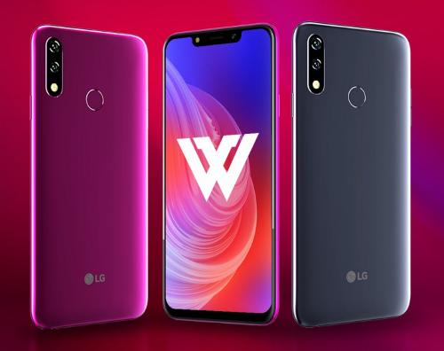 Анонсы: LG W10, W30, W30 Pro - линейка LG для рынка Индии