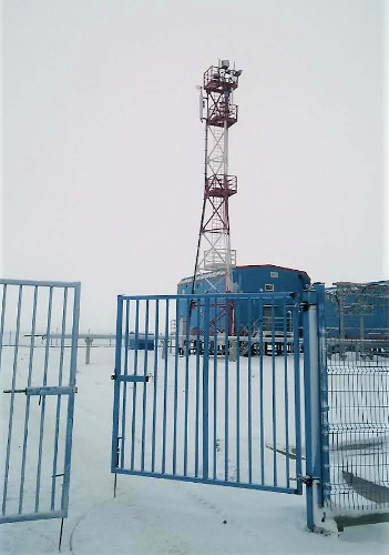 "Базовая станция МегаФон ""Выживший"" на Ямале"
