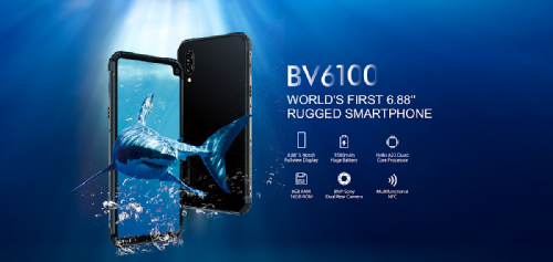 Анонсы: Blackview BV6100 – смартфон с защитой  IP69K