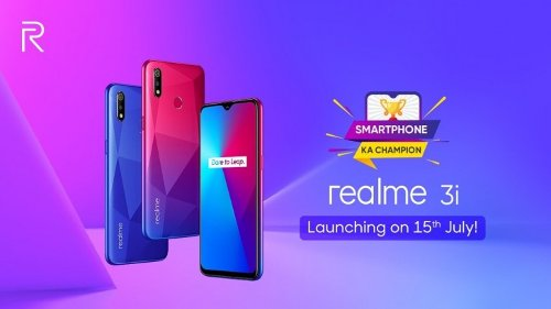 Слухи: Realme 3i снабдят 6,22-дюймовым дисплеем