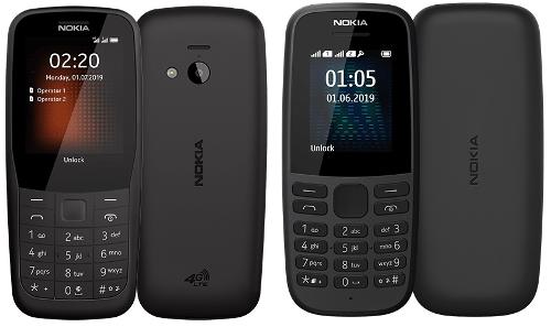 Анонсы: Кнопочные Nokiа 220 4G и обновленный Nokia 105 представлены официально