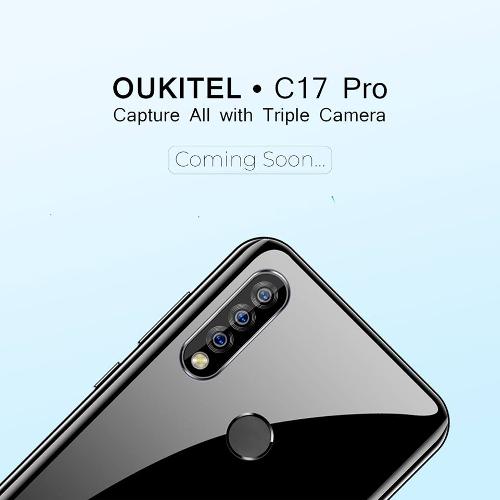 Слухи: Oukitel C17 Pro получит строенную камеру