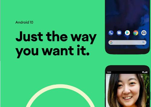 Анонсы: Android 10 не получил вкусного названия