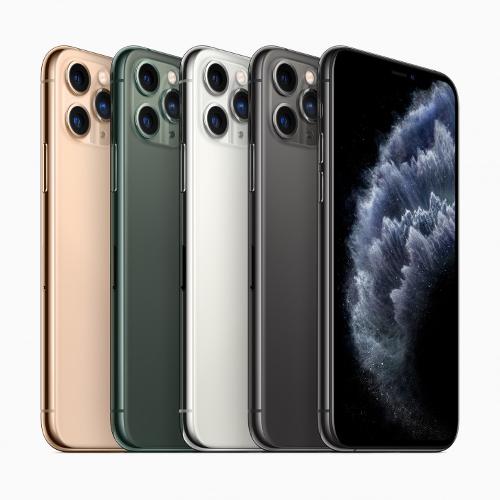 Анонсы: iPhone 11 Pro и 11 Pro Max оснастили строенной тыловой камерой
