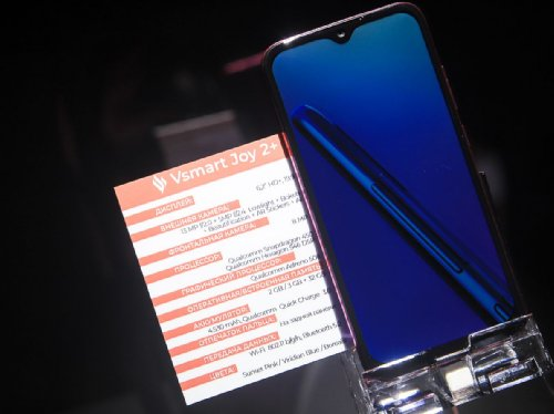Анонсы: Vsmart Bee, Vsmart Star, Vsmart Joy 2+  – вьетнамские смартфоны для российского рынка