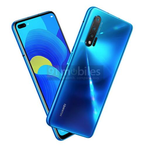 Слухи: Huawei Nova 6 5G появился на рендере
