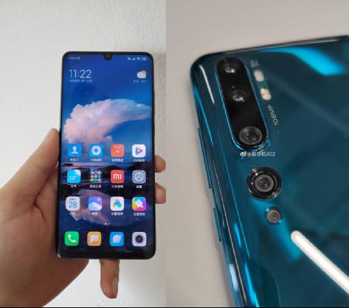Слухи: Xiaomi СС9 Pro получит пента-камеру со 108 Мп сенсором